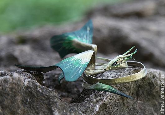 Сказочные персонажи ручной работы. Ярмарка Мастеров - ручная работа. Купить Травяной дух. Handmade. Зеленый, магический