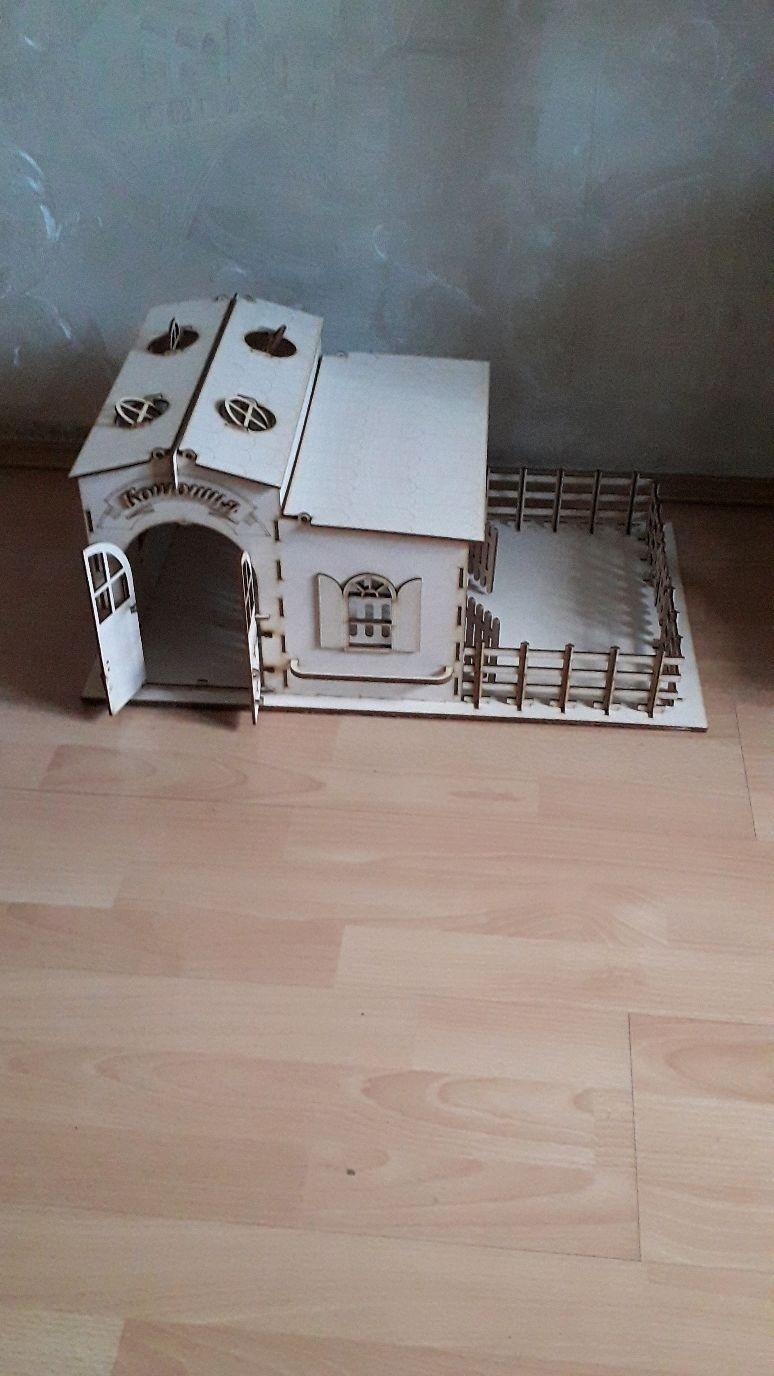 Игрушечная конюшня, Кукольные домики, Чита,  Фото №1