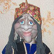 """Мягкие игрушки ручной работы. Ярмарка Мастеров - ручная работа интерьерная кукла """"Баба Яга"""". Handmade."""