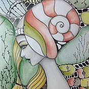 Картины и панно ручной работы. Ярмарка Мастеров - ручная работа Муза номер 1. Handmade.