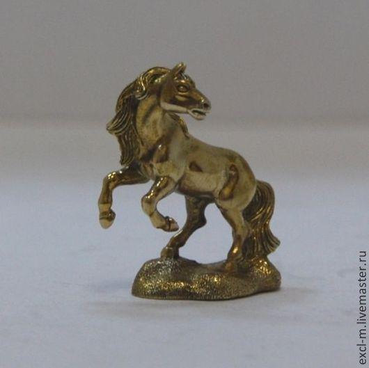 """Миниатюра ручной работы. Ярмарка Мастеров - ручная работа. Купить Статуэтка """"Конь"""". Handmade. Конь, статуэтка из латуни, бронза"""