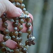 Фен-шуй и эзотерика handmade. Livemaster - original item Beads of jade the jade beads of 108 beads, Buddhist prayer beads. Handmade.