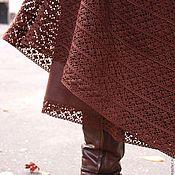 Одежда ручной работы. Ярмарка Мастеров - ручная работа Юбка Шоколадная фантазия. Handmade.
