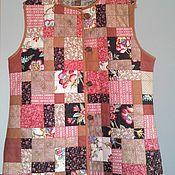 Одежда ручной работы. Ярмарка Мастеров - ручная работа Лоскутный жилет пэчворк. Handmade.