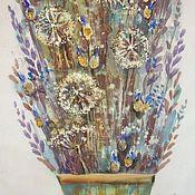 Картины и панно ручной работы. Ярмарка Мастеров - ручная работа Декоративный букетик. Handmade.