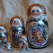 Русский стиль handmade. Livemaster - original item Winter`s tale. Handmade.