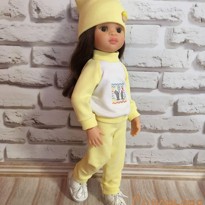 Спортивный костюм из трёх предметов для Паола Рейна, Одежда для кукол, Зубцов,  Фото №1