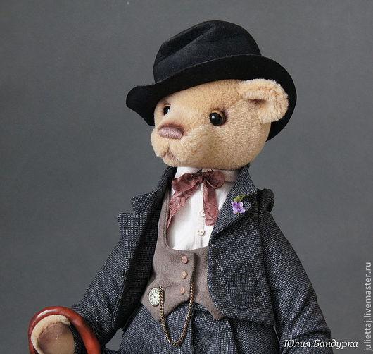 Мишки Тедди ручной работы. Ярмарка Мастеров - ручная работа. Купить Чарли. Handmade. Бежевый, мишка ручной работы