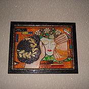 Для дома и интерьера ручной работы. Ярмарка Мастеров - ручная работа Декоративное панно. Handmade.