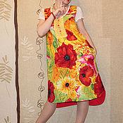 """Одежда ручной работы. Ярмарка Мастеров - ручная работа Бохо-сарафан """"В шаге от лета"""". Handmade."""