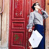 """Одежда ручной работы. Ярмарка Мастеров - ручная работа Блузка """"Capella"""". Handmade."""