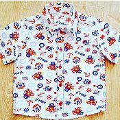 """Работы для детей, ручной работы. Ярмарка Мастеров - ручная работа Рубашка для мальчика """"Пираты"""". Handmade."""