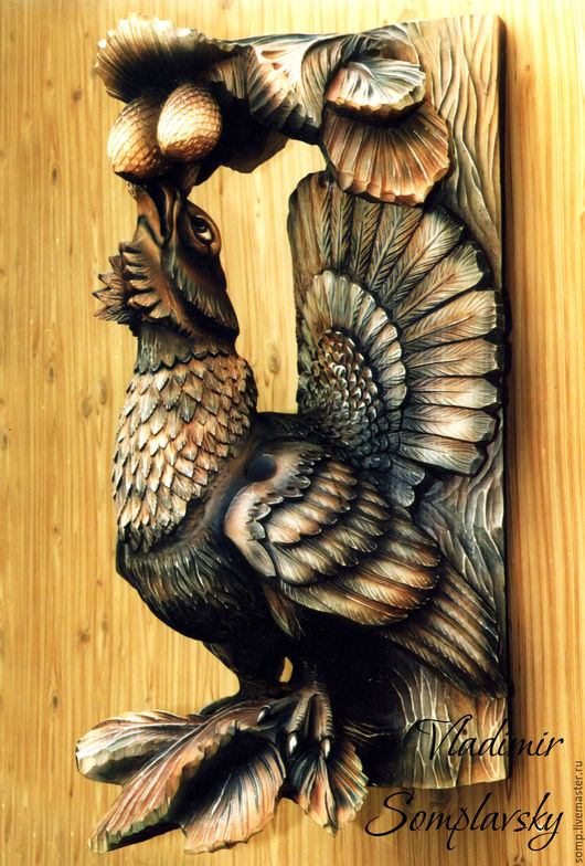 Резьба по дереву. Панно из дерева. Скульптура из дерева. Деревянная скульптура. Владимир Сомплавский. Скульптор. Панно резьба. Купить изделия из дерева. Купить резьбу.