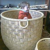 Для дома и интерьера ручной работы. Ярмарка Мастеров - ручная работа Большая корзина. Handmade.
