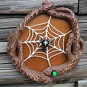 Картины и панно handmade. Livemaster - original item Panels decorative Spider. Handmade.
