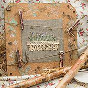 """Для дома и интерьера ручной работы. Ярмарка Мастеров - ручная работа Доска для записок """"Запомнить всё!"""". Handmade."""