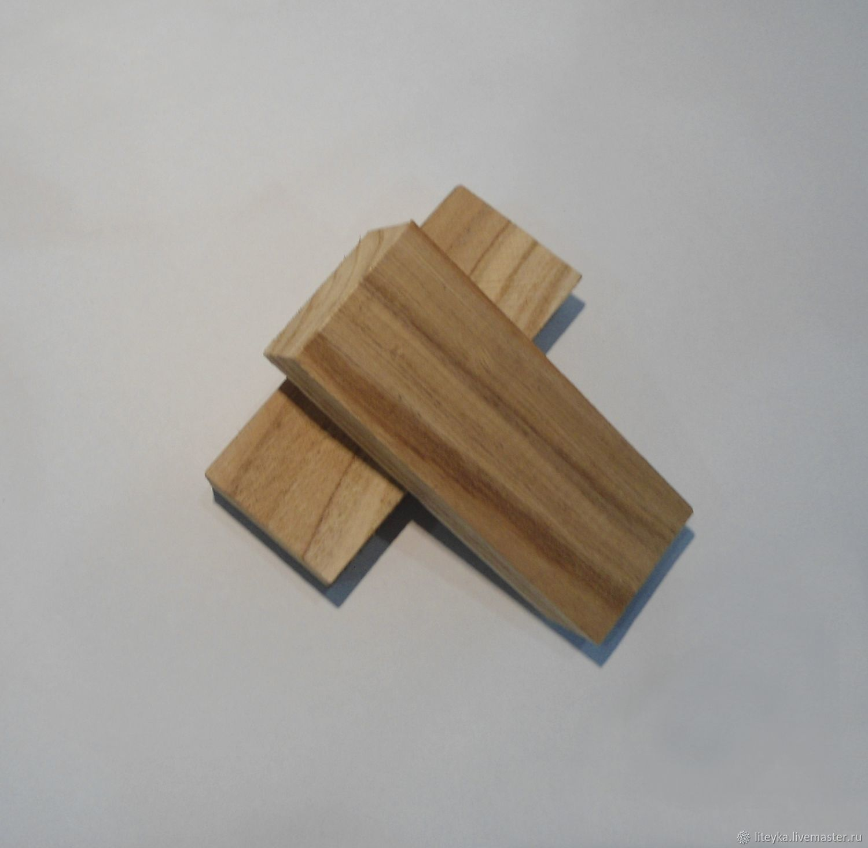Другие виды рукоделия ручной работы. Ярмарка Мастеров - ручная работа. Купить Брусок КАШТАН - CASTANEA SATIVA (Адыгея). Handmade.