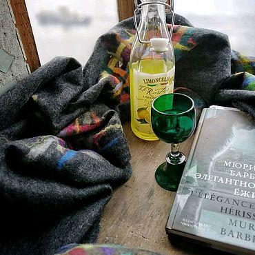 """Аксессуары ручной работы. Ярмарка Мастеров - ручная работа """"Настроение - осень"""" шарф валяный. Handmade."""