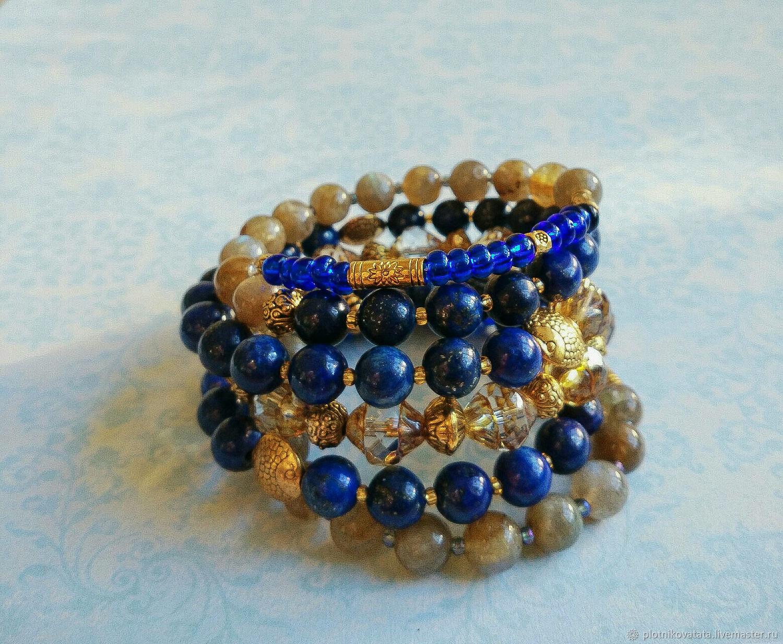 Rioja bracelet on memory wire, Bead bracelet, St. Petersburg,  Фото №1