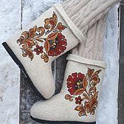 Обувь ручной работы handmade. Livemaster - original item Boots with harness