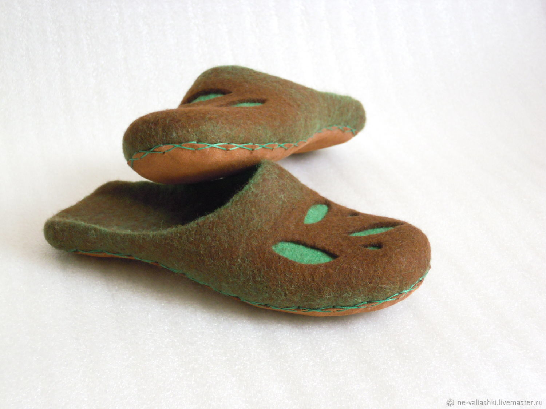 Тапочки валяные домашние, Обувь, Кременчуг, Фото №1
