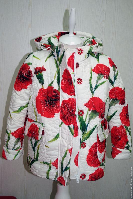 Верхняя одежда ручной работы. Ярмарка Мастеров - ручная работа. Купить куртка утепленная зимняя. Handmade. Куртка