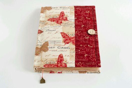 """Блокноты ручной работы. Ярмарка Мастеров - ручная работа. Купить """"Бабочки"""". Handmade. Комбинированный, ежедневник, металлическая подвеска"""