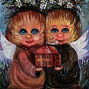 Картины и панно ручной работы. Ярмарка Мастеров - ручная работа Счастье в дом. Handmade.