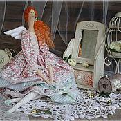 Куклы и игрушки ручной работы. Ярмарка Мастеров - ручная работа Ангел заботы и любви Кларисса. Handmade.