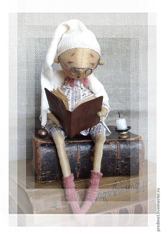 Ароматизированные куклы ручной работы. Ярмарка Мастеров - ручная работа. Купить Тихий вечер Кристиана. Handmade. Человечек, интерьерная кукла