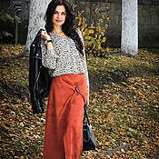 Одежда ручной работы. Ярмарка Мастеров - ручная работа Юбка Кленовая. Handmade.