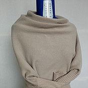 Одежда ручной работы. Ярмарка Мастеров - ручная работа кофточка квадрат пудровая. Handmade.