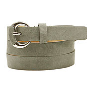 Аксессуары handmade. Livemaster - original item Copy of Beige suede belt. Handmade.