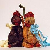 Материалы для творчества ручной работы. Ярмарка Мастеров - ручная работа МК про ПЕТУХА )). Handmade.