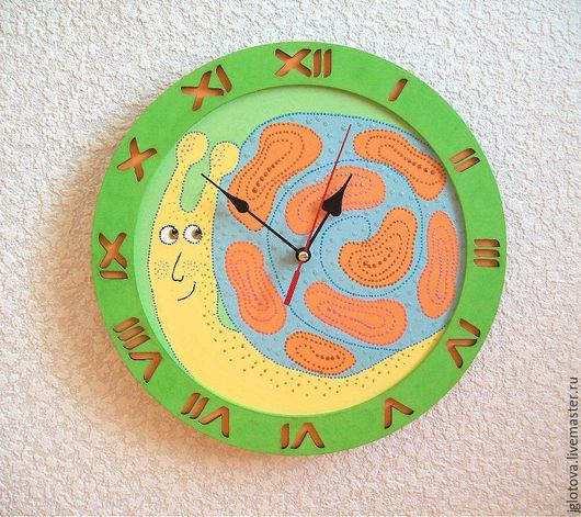 настенные часы ручной работы, часы интерьерные, интерьер детской комнаты, часы с улиткой, часы настенные купить, часы интерьерные купить, часы настенные недорого, часы купить недорого, купить подарок