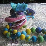 Куклы и игрушки ручной работы. Ярмарка Мастеров - ручная работа сумочка-игрушка рыбка ``ротик на замке``.. Handmade.