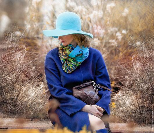 Персональные подарки ручной работы. Ярмарка Мастеров - ручная работа. Купить Женщина в шляпе. Handmade. Комбинированный, шляпа, образ, фетр