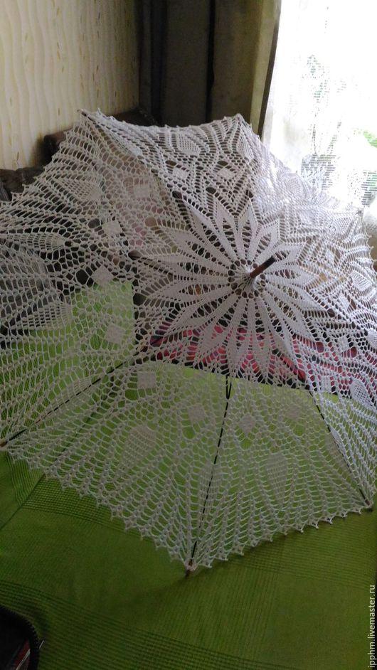Зонты ручной работы. Ярмарка Мастеров - ручная работа. Купить Вязаные зонты. Handmade. Зонт, вязаные аксессуары, вязаный зонт
