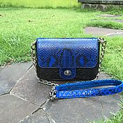 Сумки и аксессуары handmade. Livemaster - original item Mini handbag made from Python. Handmade.