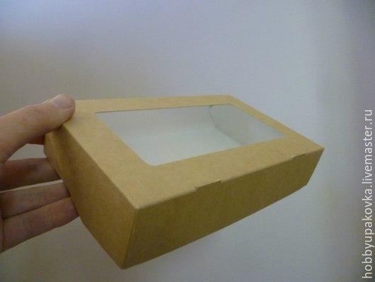 Упаковка ручной работы. Ярмарка Мастеров - ручная работа. Купить Коробка 12х20х4 см крафт. Handmade. Упаковка коробка крафт