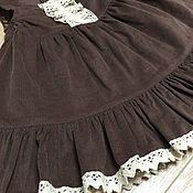 Работы для детей, handmade. Livemaster - original item Sundress cotton corduroy