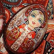 """Подарки к праздникам ручной работы. Ярмарка Мастеров - ручная работа Пасхальное яйцо """"Матрешка"""". Handmade."""