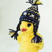 Куклы и игрушки ручной работы. Ярмарка Мастеров - ручная работа Цыпленок в шапочке. Handmade.