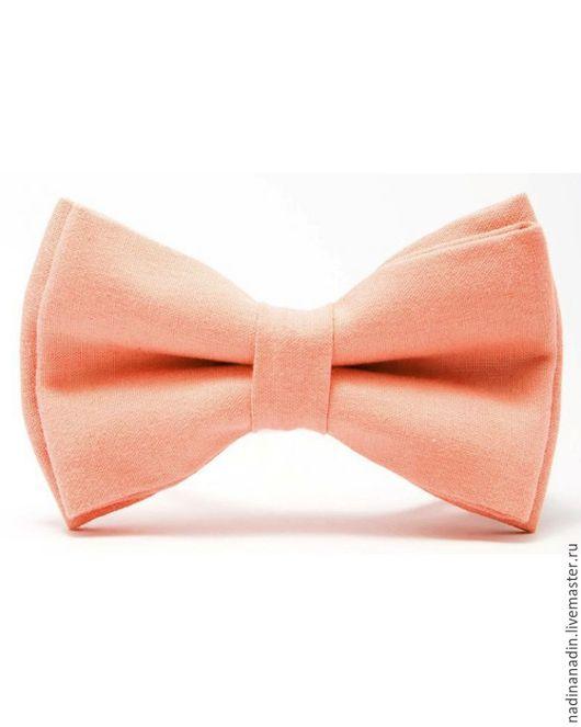 Одежда и аксессуары ручной работы. Ярмарка Мастеров - ручная работа. Купить Галстук-бабочка. Handmade. Бежевый, бабочка-галстук