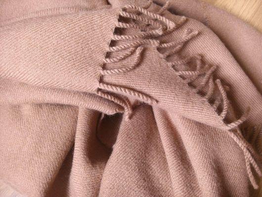 Винтажная одежда и аксессуары. Ярмарка Мастеров - ручная работа. Купить Палантин. Cortefiel. Шерсть 100%. Handmade. Шарф, бежевый цвет