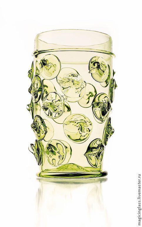 Бокалы, стаканы ручной работы. Ярмарка Мастеров - ручная работа. Купить Коллекционное историческое стекло. Бокал № 9.. Handmade.