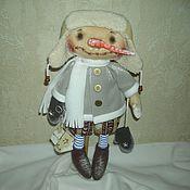 Куклы и игрушки ручной работы. Ярмарка Мастеров - ручная работа Кукла Снеговик со скворечником. Handmade.