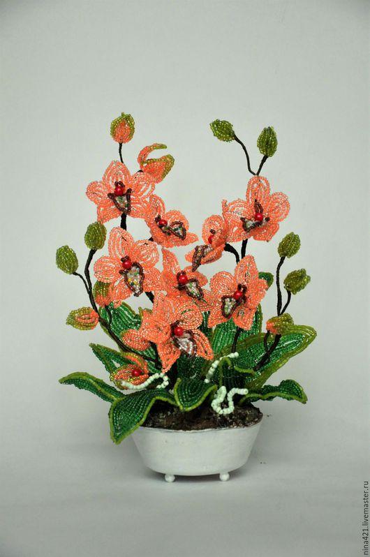 Цветы ручной работы. Ярмарка Мастеров - ручная работа. Купить Манюня. Handmade. Кремовый, цветы, подарок, бусины, флористический материал