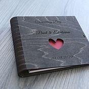 Книги ручной работы. Ярмарка Мастеров - ручная работа Книга пожеланий Black 2. Handmade.