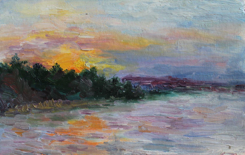 Волжский пейзаж, Картины, Энгельс,  Фото №1